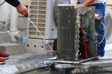 Aircon Condenser Repair KL & Selangor